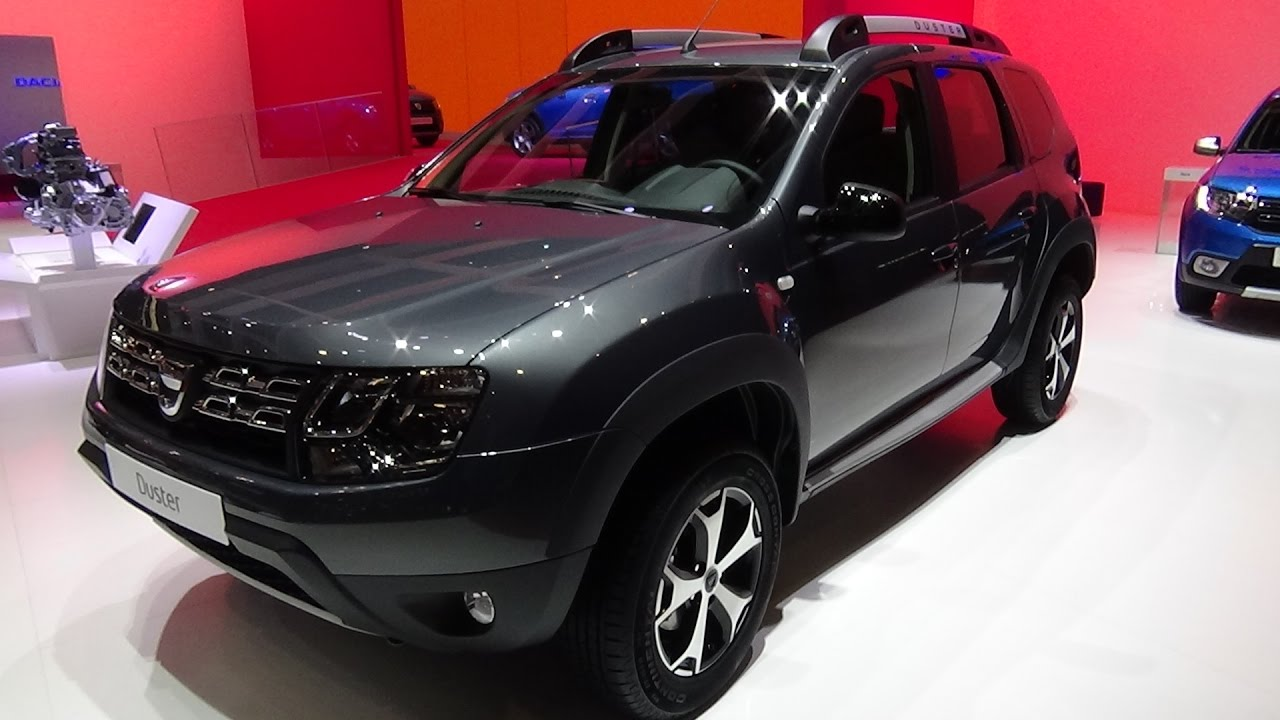 2017 dacia duster unlimited 4x4 exterior and interior for Interieur nouveau duster