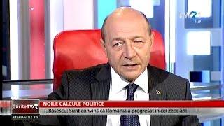 Traian Băsescu, despre mandatul de președinte și foștii colaboratori (@TVR1)