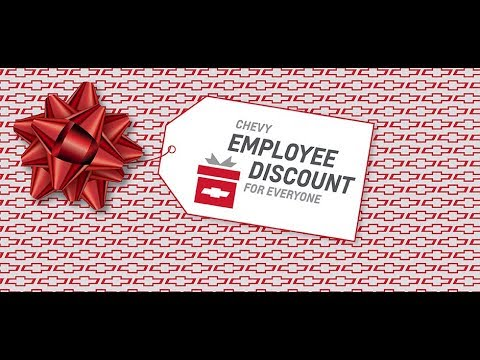 Gm Employee Price For Everyone Youtube