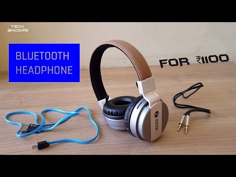 Best 4 in 1 Bluetooth Headphone For everyone In budget. (Zoook Rocker Bomb)
