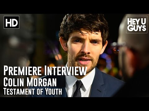 Colin Morgan Interview - Testament of Youth Premiere