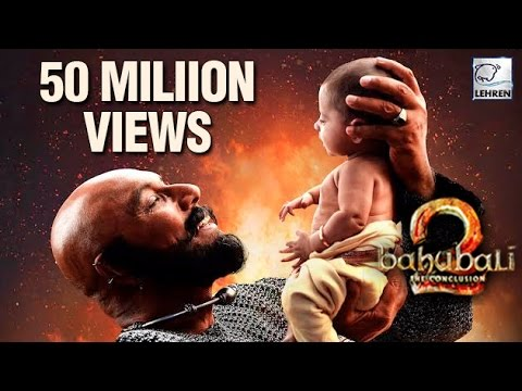 Baahubali 2 Trailer Gets More Than 50 Million Views| Prabhas | Anushka Shetty | Rana Daggubati
