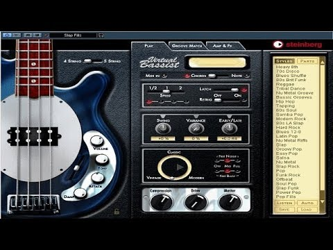 Steinberg - Virtual Bassist - Demo