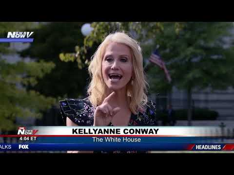 """ASK ME A REAL QUESTION"": Kellyanne Conway gets HEATED with media at The White House"