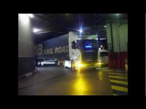 scania r500 v8 transport UME tunnel de Monaco