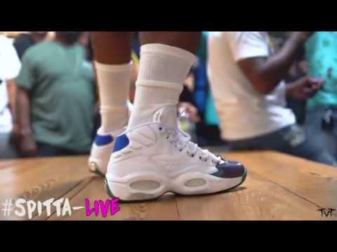 Curren y New Orleans Sneaker Release of his 2nd shoe with Reebok A Jet Life  Iverson Question c7200ed5f