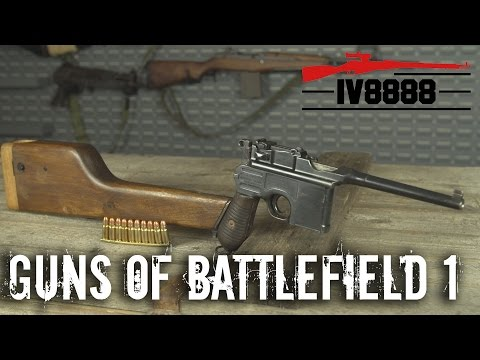 Top 5 Guns of Battlefield 1