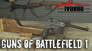 Top 5 Guns of Battlefield 1