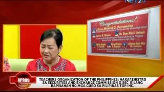 APRUB - Teachers Organization of the Philippines (February 06, 2014)