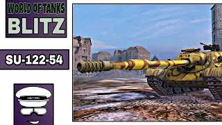"""SU-122-54 - 6.2k Dmg"" World of Tanks Blitz"