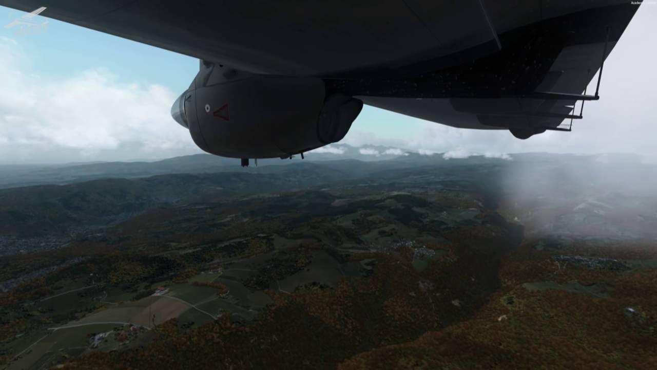 P3D v3 4] Full Flight | DO228 | LIRQ, Florence - LIPX