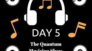 """The Quantum Musician Show Day 5: Song """"Oceans Of Time"""" By Ryan David Dwyer"""