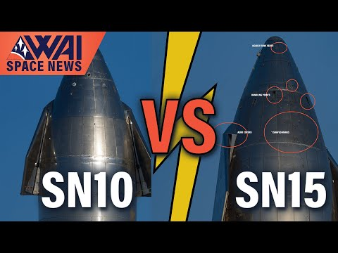 SpaceX Starship SN10 vs. SN15 – What's Improved? - What about it!?