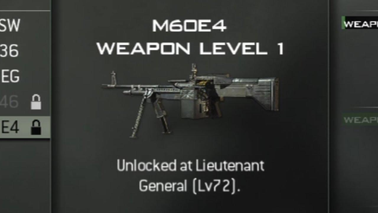 Call of Duty: Modern Warfare 3 - LMGs Level Unlocks (COD ...