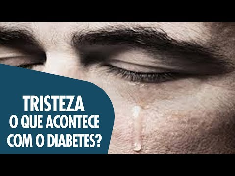 TRISTEZA E DIABETES,