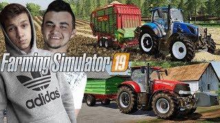 Farming Simulator 19☆Sprzedaż Plonów & Kupno Nowego Pola :D  !☆ ✔ Sąsiedzkie Zmagania #20