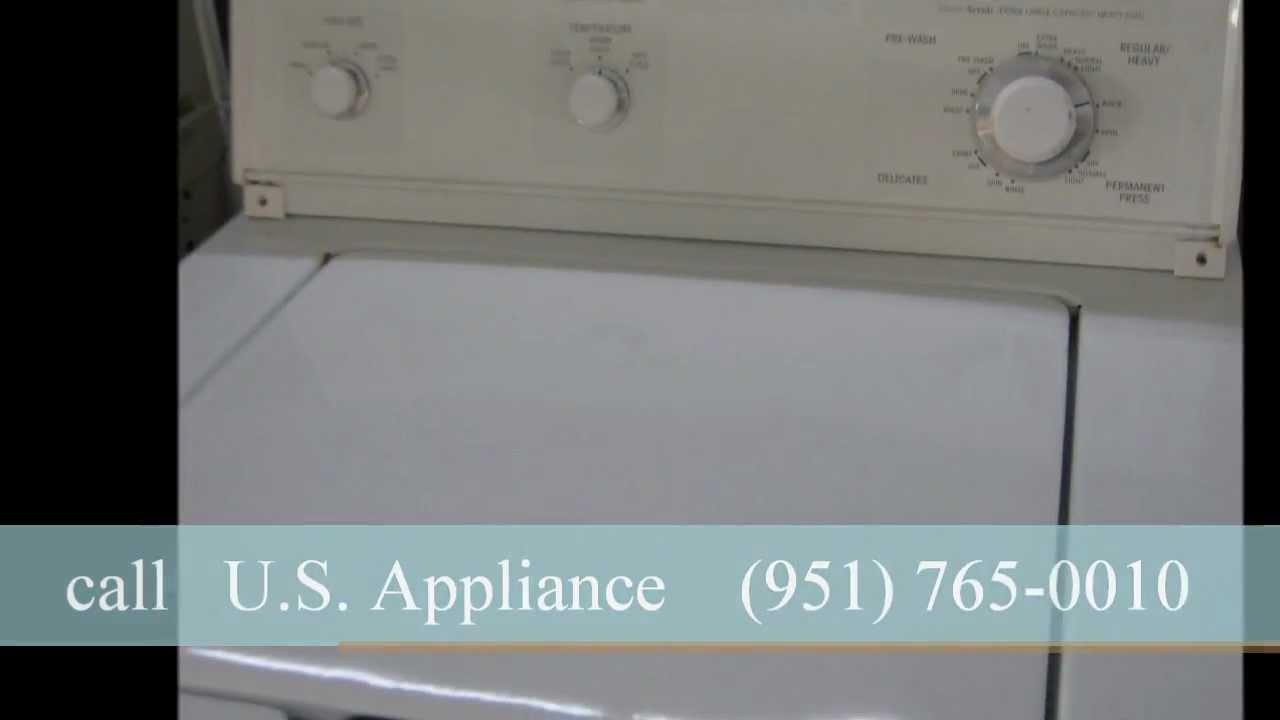 Kitchen Aid Washing Machine   White, Works Well   $150.00   YouTube