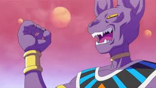 introduction of beerus, God of destruction.....