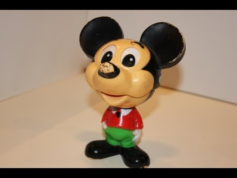 1976 Disney Mickey Mouse Talking Chatter Chum Toy
