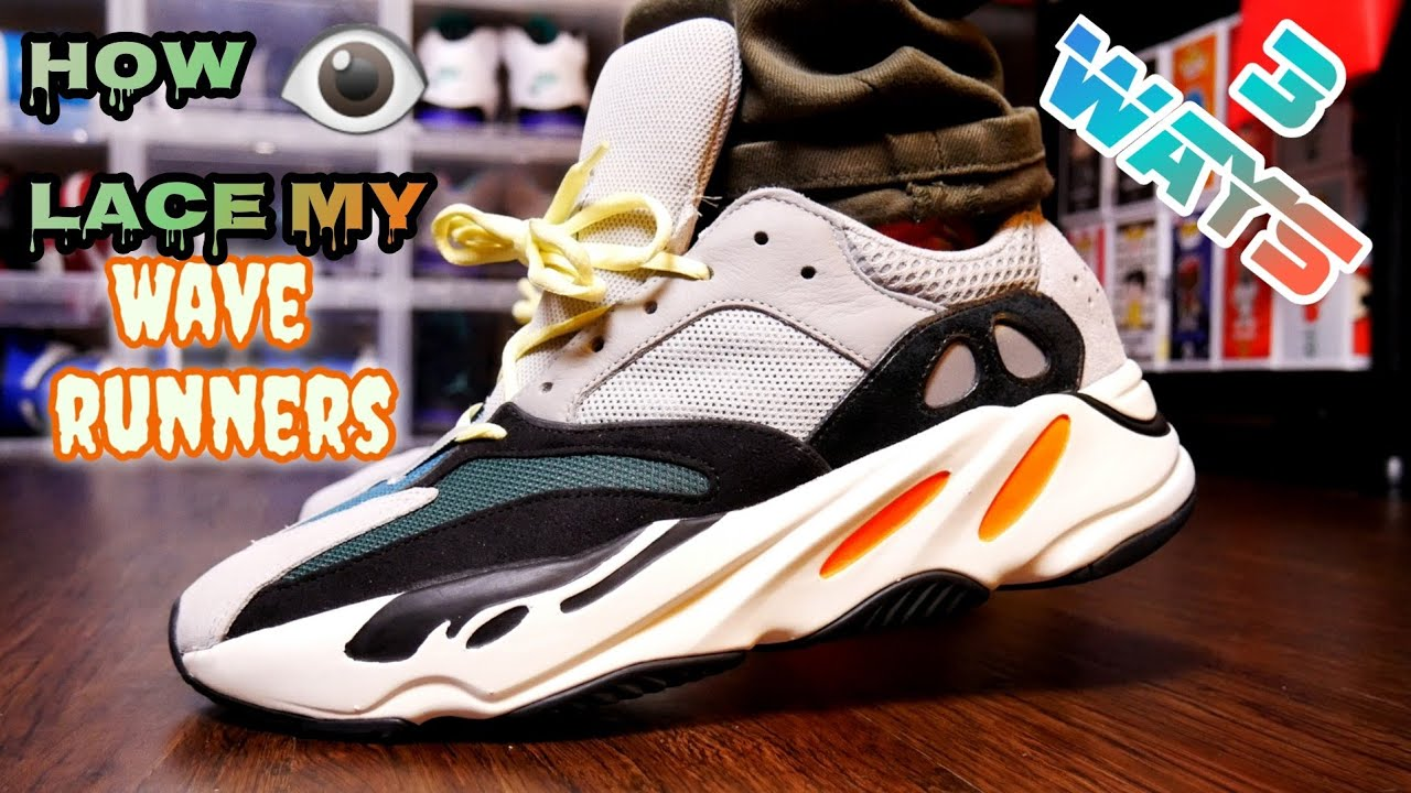 HOW TO LACE THE ADIDAS YEEZY 700 WAVE