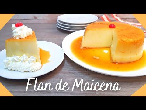 ⭐ Flan Sin Horno Fácil, Sin Baño María y con Pocos Ingredientes | Flan de Maicena #88