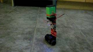 Self Balancing Two Wheel Cart with PID Control