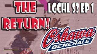 NHL 19 THE RETURN Of LGCHL WoC! Season Debut! S3E1