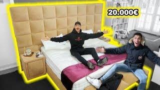 20.000€ LUXUS BETTEN GEKAUFT !!! | PrankBrosTV