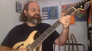 Breaking in my New Phred Guitar and I need your help as well