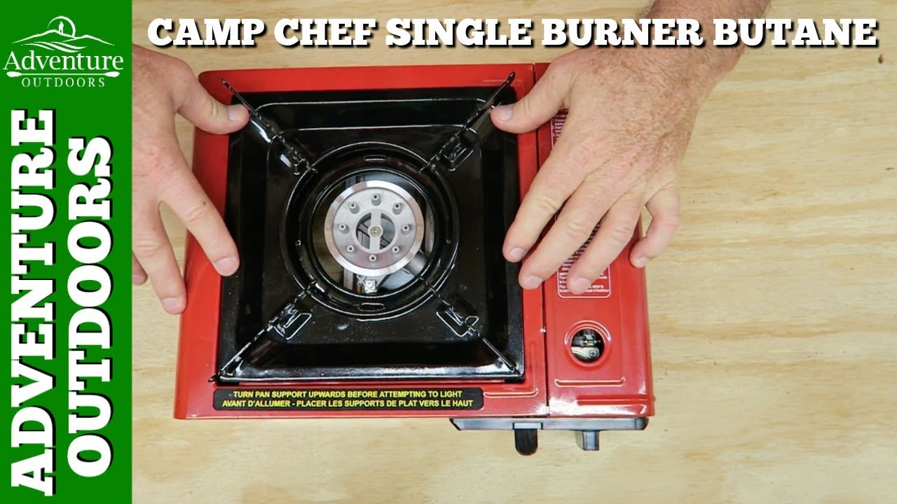 Camping Gear ~ Camp Chef Portable Single Burner Butane Stove