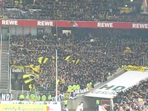 BVB Stimmung gegen den 1. FC Köln