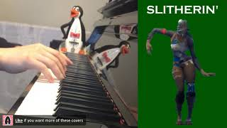FORTNITE Dance - Slitherin' (Piano Cover)