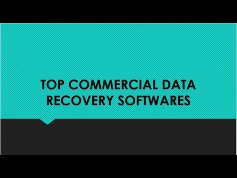 Commercial Data Recovery Softwares