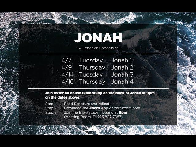 Jonah Bible Study Promotional Video