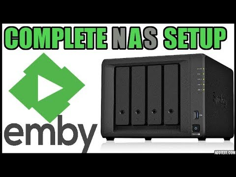 Emby Medias Server Complete Setup on your Synology NAS (network attached  storage) - 2019