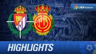 Resumen de Real Valladolid (2-1) RCD Mallorca - HD
