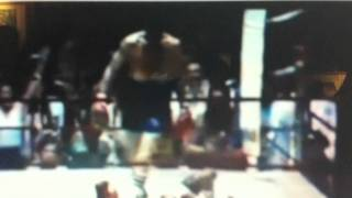 Dicky Eklund ward steps over  Sugar Ray Leonard the fighter real !!!