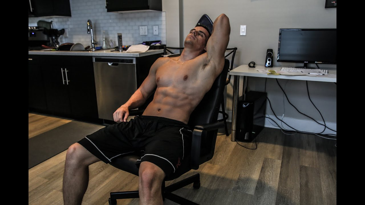 Ultimate OFFICE CHAIR Ab Workout  No Excuses  Brendan