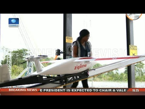 Zipline: Ghana Launches Medical Delivery Drones |Network Africa|