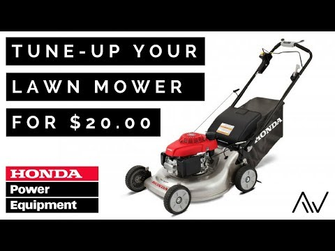 How to Tune Up a Honda Lawn Mower | GC/GCV Engines