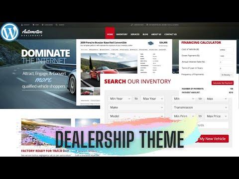 How to create a website for a car dealership | SmartingGoods