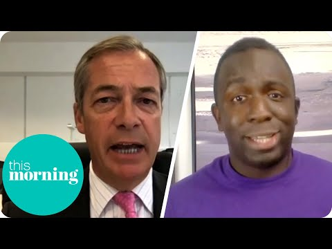Nigel Farage Clashes With Political Campaigner Over Rule Britannia BBC Row | This Morning