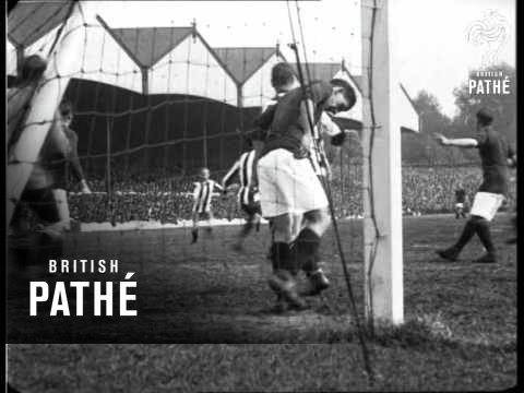 Arsenal V Newcastle At Highbury (1919)