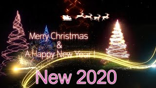Christmas animation background effects hd Christmas songs Christmas wishes ecard 2019 2020