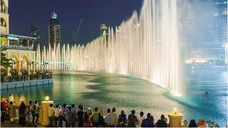 Amazing Dancing Fountain Show in Dubai