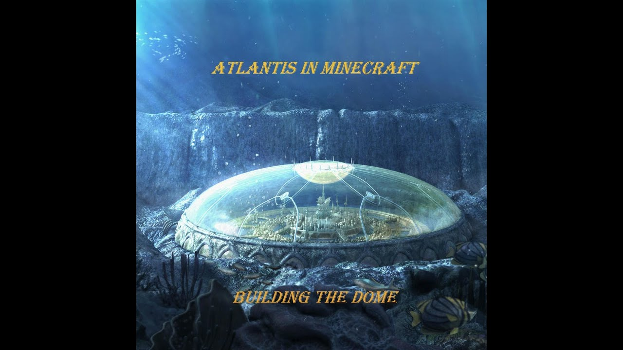 minecraft building atlantis 1 youtube