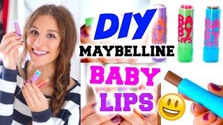 Video DIY MAYBELLINE BABY LIPS ♡ mit Nutella, Glitzer oder Pumpkin Spice! BarbieLovesLipsticks download MP3, 3GP, MP4, WEBM, AVI, FLV Agustus 2018