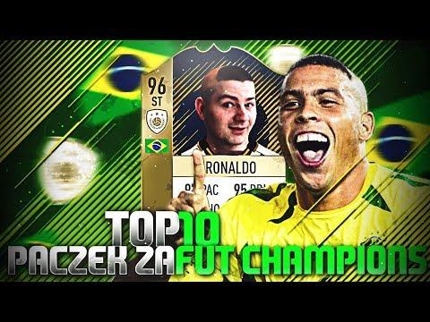 TOP 10 PACZEK POLAKÓW za FUT CHAMPIONS! | #1 |