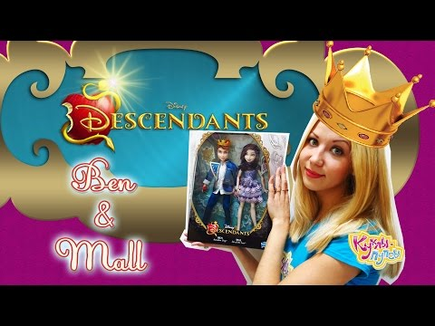 Куклы Наследники Дисней / Disney Descendants - YouTube