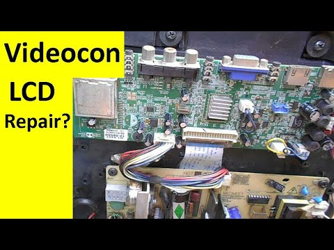 videocon lcd tv circuit diagram
